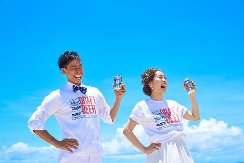 沖縄出身の私たちらしい写真が撮れました!