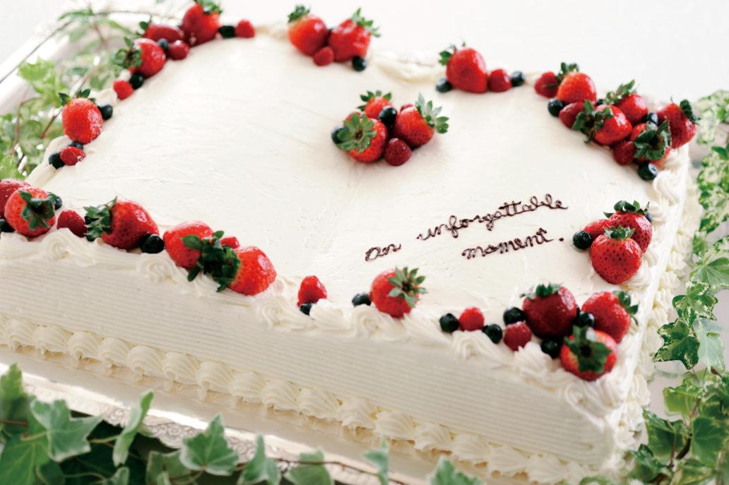 ウェディングケーキのフォトギャラリー