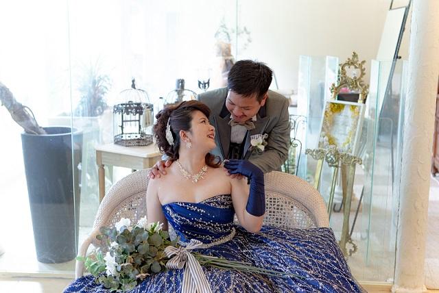 カラードレスで室内撮影のフォトギャラリー