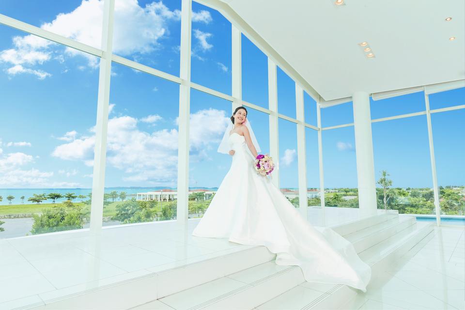 小さな結婚式 シー・シェル・ブルー(サザンビーチホテル&リゾート内)