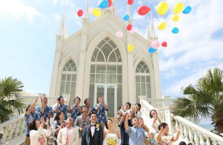 家族だけで結婚式♡