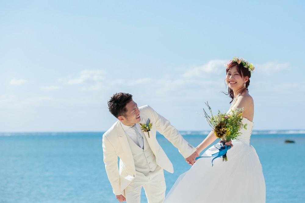 【3~5月各月10組限定】ビーチフォト★データ100カット+オープニングムービー付!