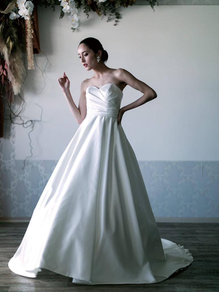 オリジナル・ウェディングドレス「Airy」のフォトギャラリー