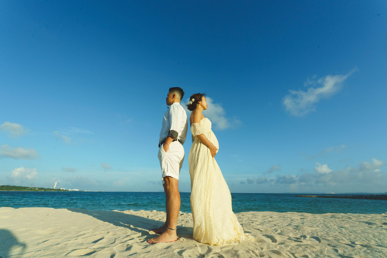 マタニティ撮影やサンセットフォトもビーチでのフォトギャラリー