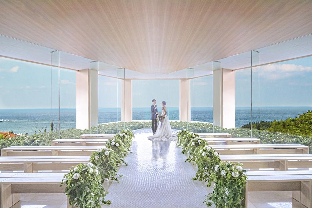 1128【価格重視の方へおすすめ】予算内で憧れの沖縄リゾート婚を叶える♪挙式料50%オフ特典あり!