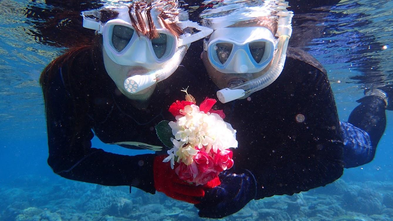 【水納島シュノーケル付】【200カット納品保証◎】海のレジャー付き2日間ツアー!沖縄思い出たっぷり大満足プラン♪